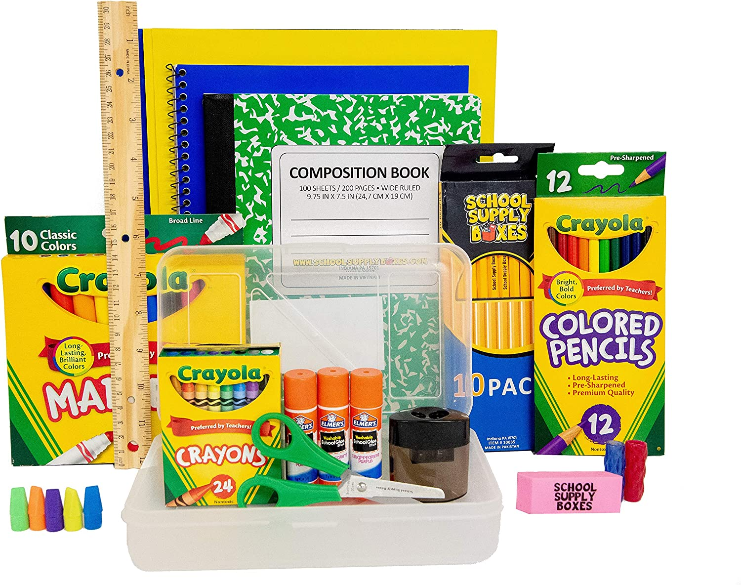 All-In-One Back to School Bundle Writing Instruments Starter Kit Free Shipping