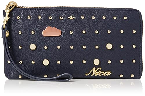 nica - Momo, Carteras Mujer, Blue (Navy), 2x11x20 cm (W x H L): Amazon.es: Zapatos y complementos
