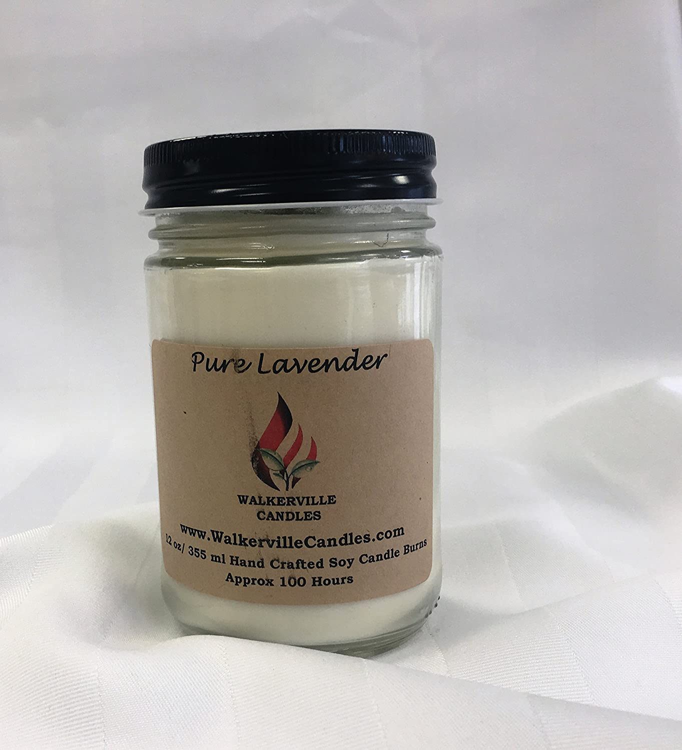 Pure Lavender essential Oil 12 oz soy candle