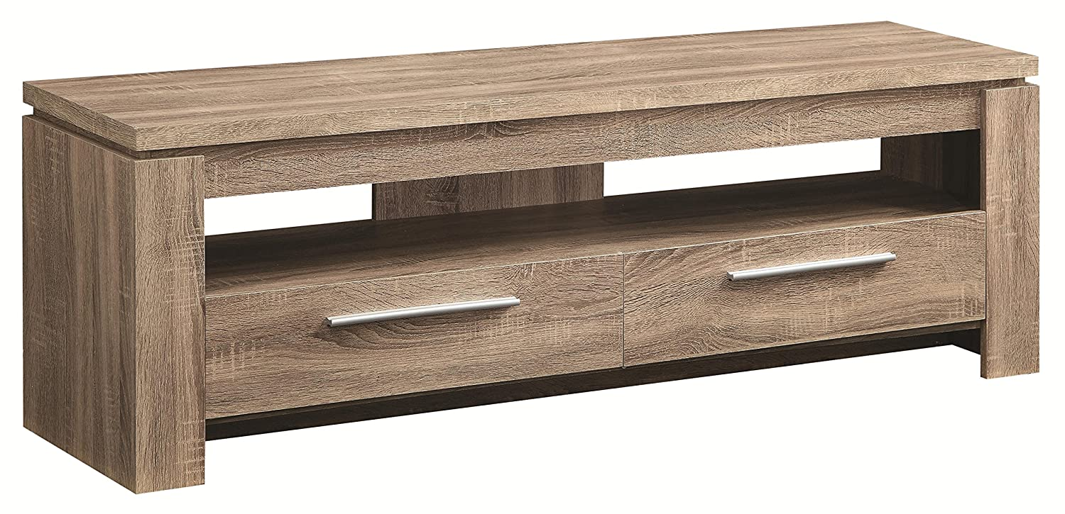 Amazon.com: Coaster 701975 Home Furnishings TV Console, Weathered Brown:  Kitchen U0026 Dining