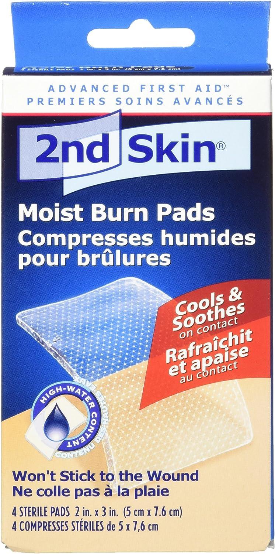 Spenco 2nd Skin Moist Burn Pads, Medium (2 x 3 Inches), 4-Count: Industrial & Scientific