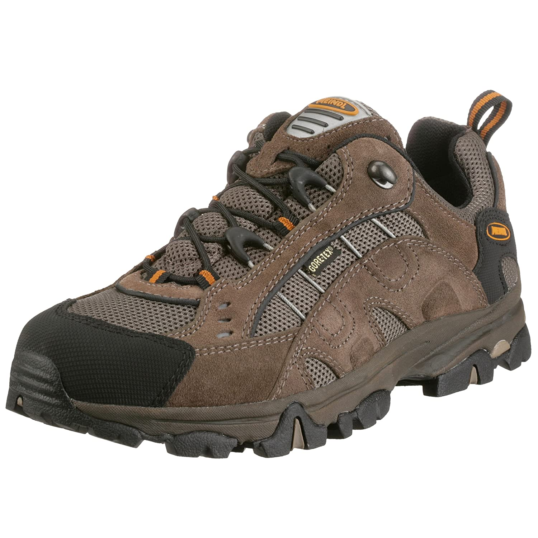 Meindl mens outdoor shoe brown/orange