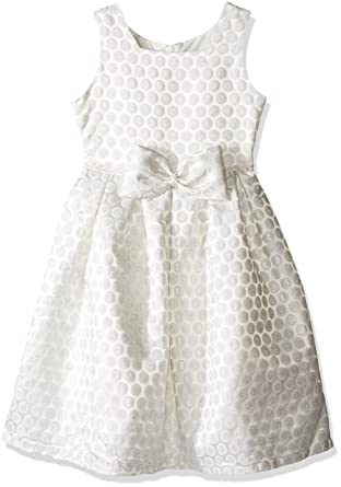 07e41df66 Amazon.com  Jayne Copeland Girls  Brocade Box Pleated Dress  Clothing