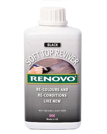 renovo soft top reviver black 500ml amazoncom bmw z3 convertible top
