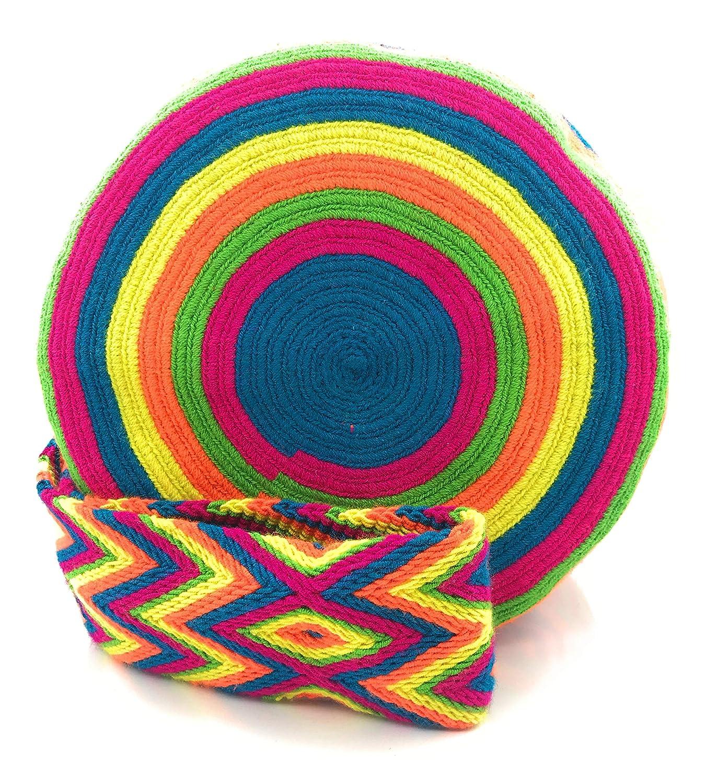 Wayuu Ryggsäck, handgjorda colombianska handväskor, både för kvinnor och män. Bogota