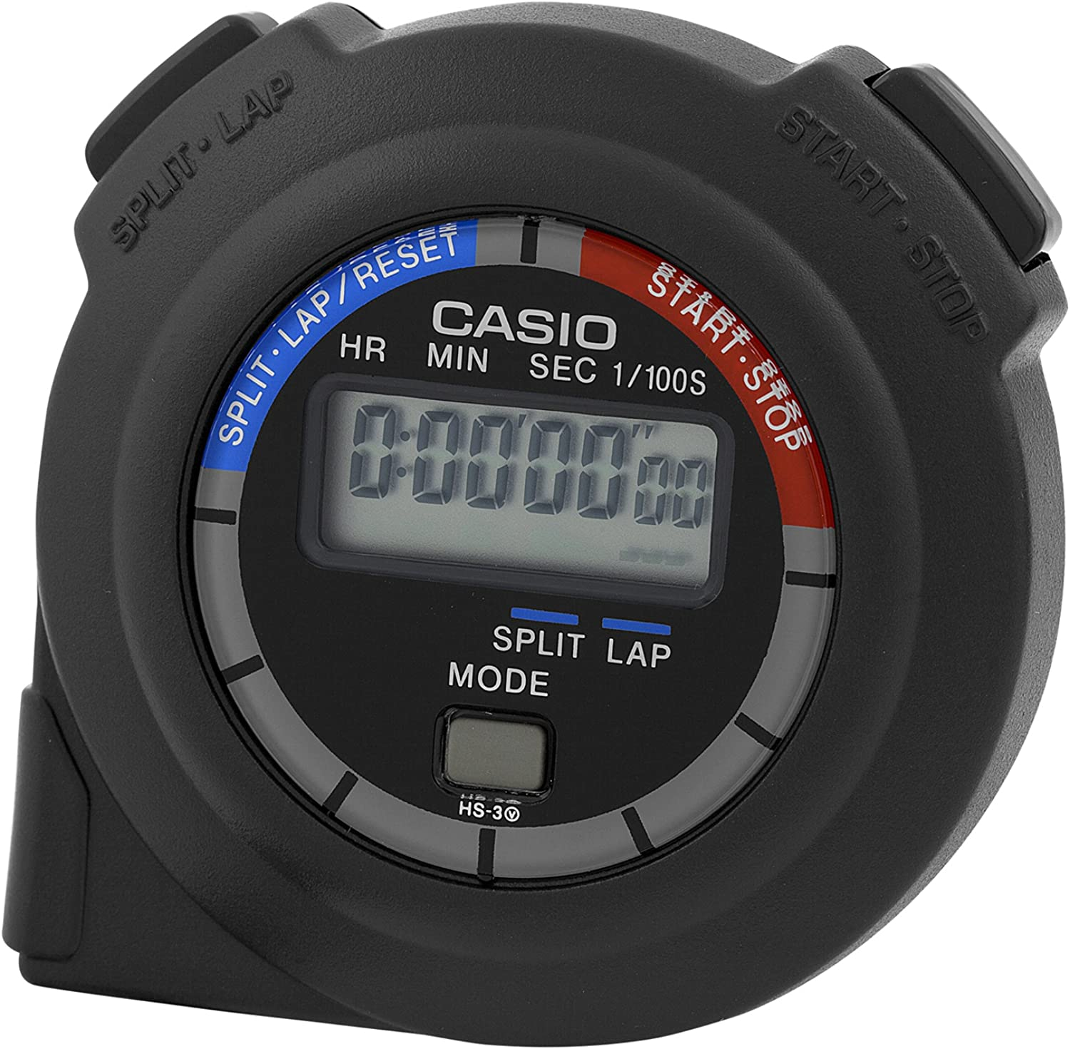 Casio Handheld Stopwatch Timer Model HS-3V-1R