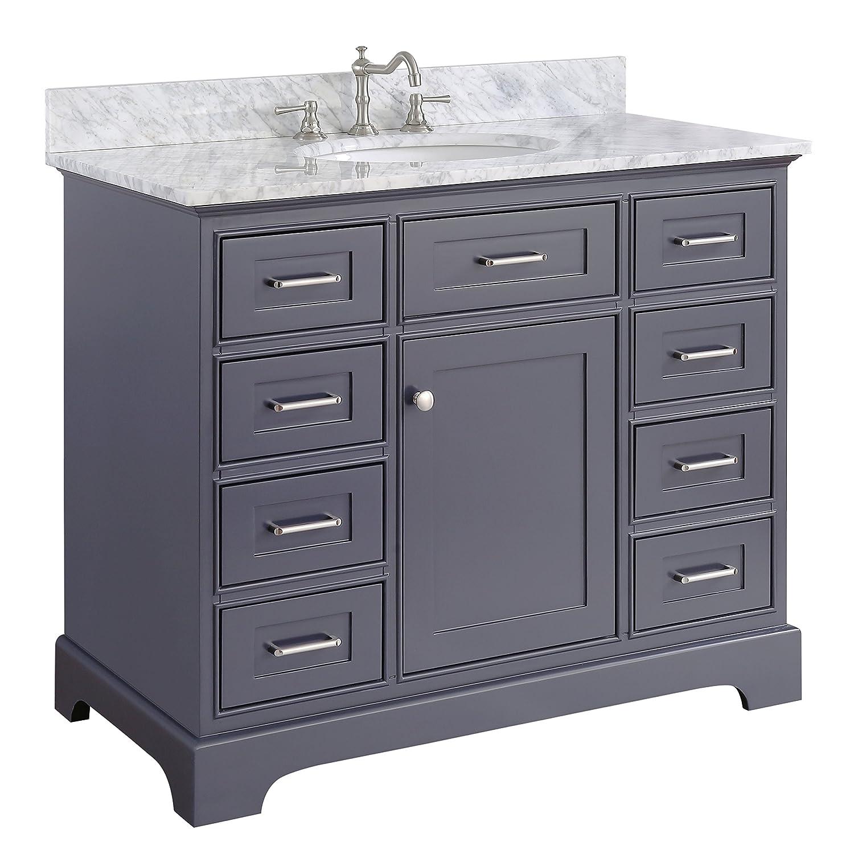 OWOFAN Touch Kitchen Faucets with Pull Down Sprayer, Kitchen Sink Faucet with Pull Out Sprayer, Single Hole Deck Mount, Single Handle Copper Kitchen Faucet, Matte Black 1029R