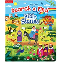 My First Search & Find Bible Stories-A Fun Introduction to Bible Stories as Children Search for People, Animals, and Objects throughout Bible Scenes
