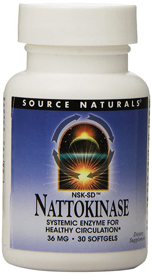 Nattokinase - 36 mg 720 FE - 30 enzimas softgels: Amazon.es ...