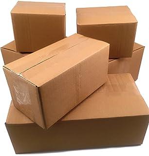 Amazon.com: tuffmailers 7 x 5 x 3 caja de cartón de envío ...