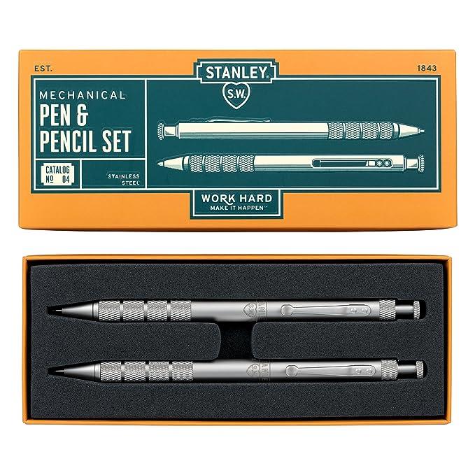 Stanley - Juego de bolígrafo y portaminas: Amazon.es: Oficina y papelería