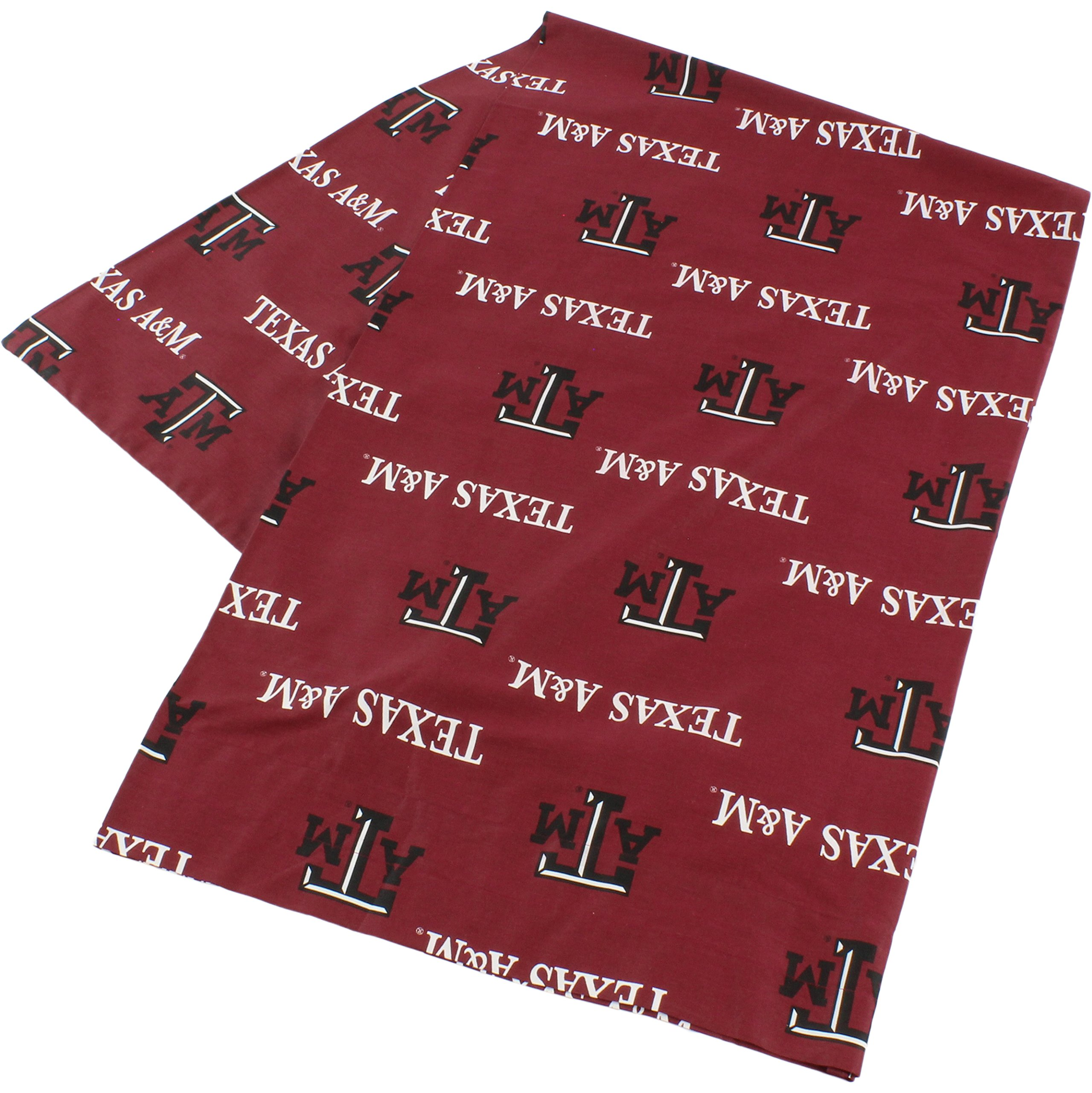 College Covers Texas a&M Aggies Pillowcase Only-Body Pillow, 20'' x 60'', Red