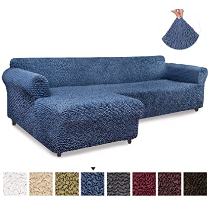 Amazon.com: Sectional Sofa Cover - Sectional Couch Covers - L Couch ...