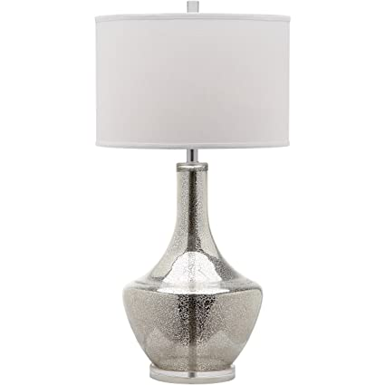 Safavieh Lighting Collection Mercury Silver 33 Inch Table Lamp