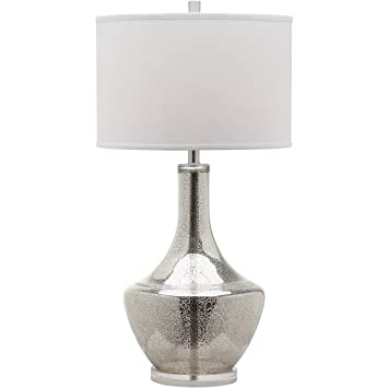 Amazon.com: Safavieh Lighting Collection Mercury Silver 33 Inch Table Lamp:  Home U0026 Kitchen
