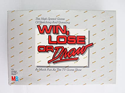 Amazoncom Win Lose Or Draw Original Edition 1987 Toys Games