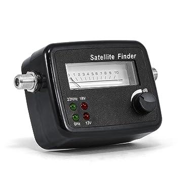 CSL finder/Sat-Detector de señal satélite con escala de nivel/display Buscador y medidor con ...