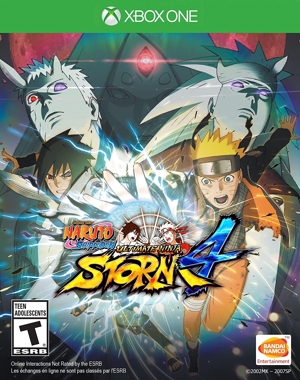 Amazon com: Naruto Shippuden: Ultimate Ninja Storm 4 - Xbox