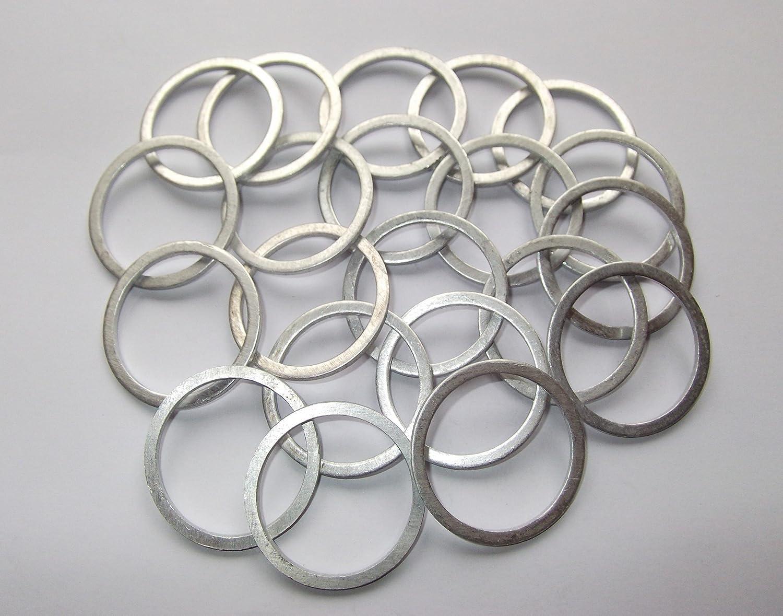 100 Stück Aluminiumringe Dichtringe Aluringe 30x36x2 0 Mm Din 7603 Auto