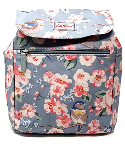 54fe0bb0337a Cath Kidston handbag backpack in  Meadowfield Birds  design seafoam blue  oilcloth  Amazon.co.uk  Shoes   Bags