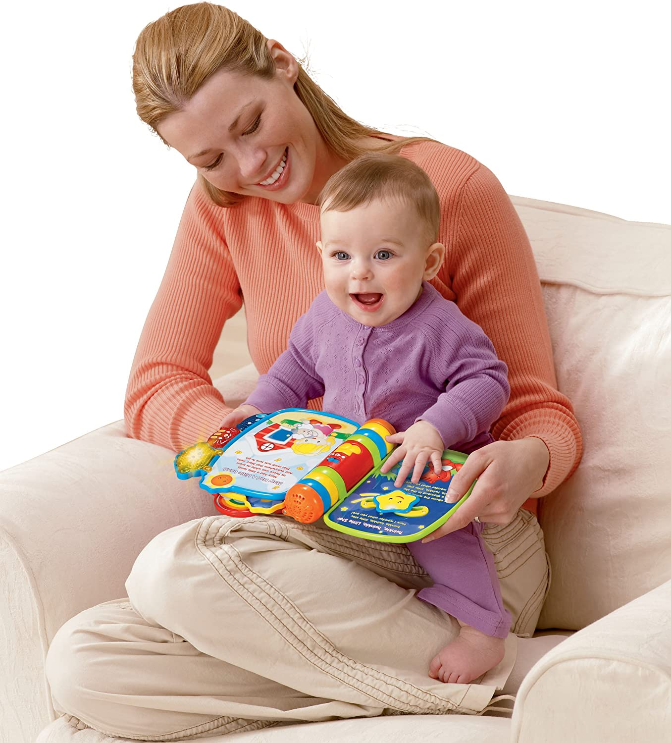 Frustration Free Packaging VTech Rhyme and Discover Book