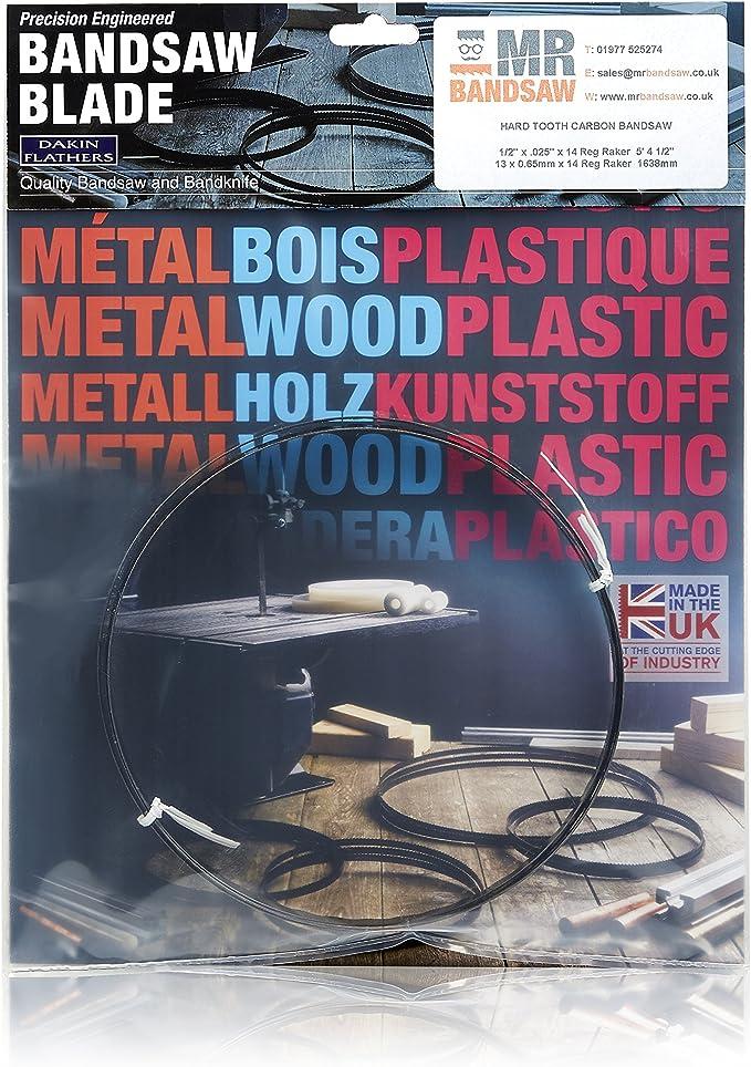 3er SET Encut Hochleistungs-Bands/ägeblatt 1790 x 6 x 0,65mm 6 ZpZ Werkzeugstahl