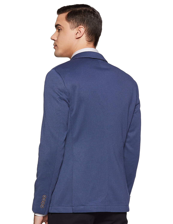 Best Blue Notch Lapel Blazer For Men's