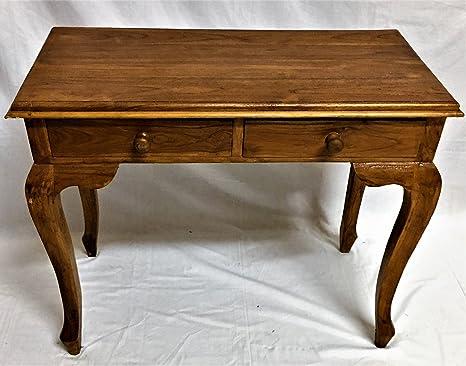 Scrivania Scrittoio in legno Teak mobile da Ingresso arredamento ...