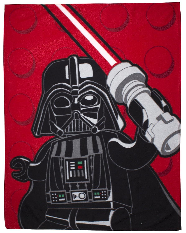 Character World Lego Star Wars Panel Fleece Blanket LG7SWSFL001UK