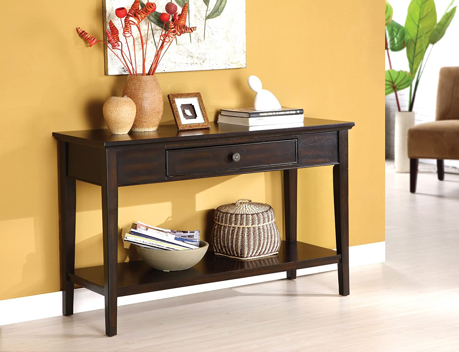 espresso entryway table. Espresso Entryway Table U