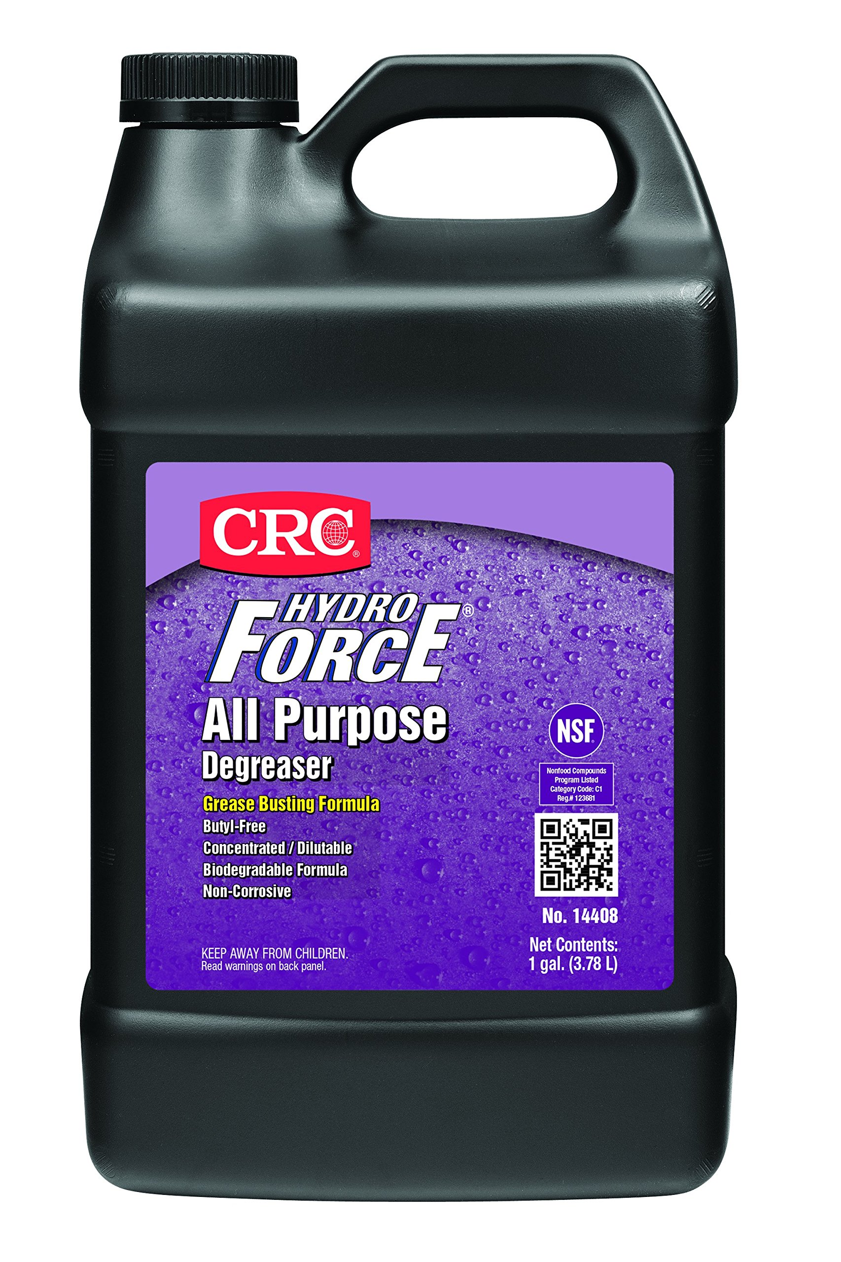 CRC HydroForce  All Purpose Degreaser, 1 Gal
