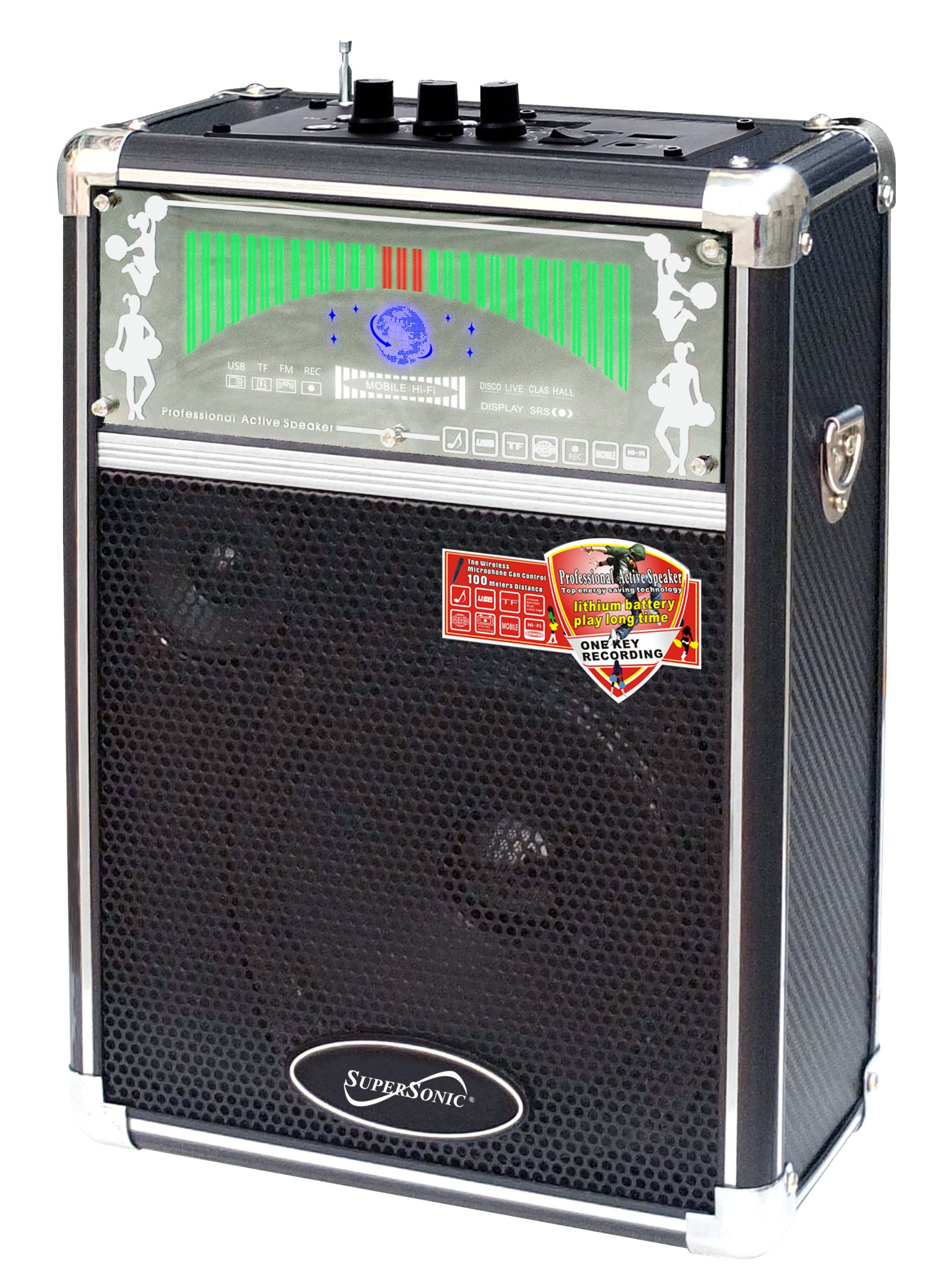 Supersonic SC2300 USB PA Speaker System