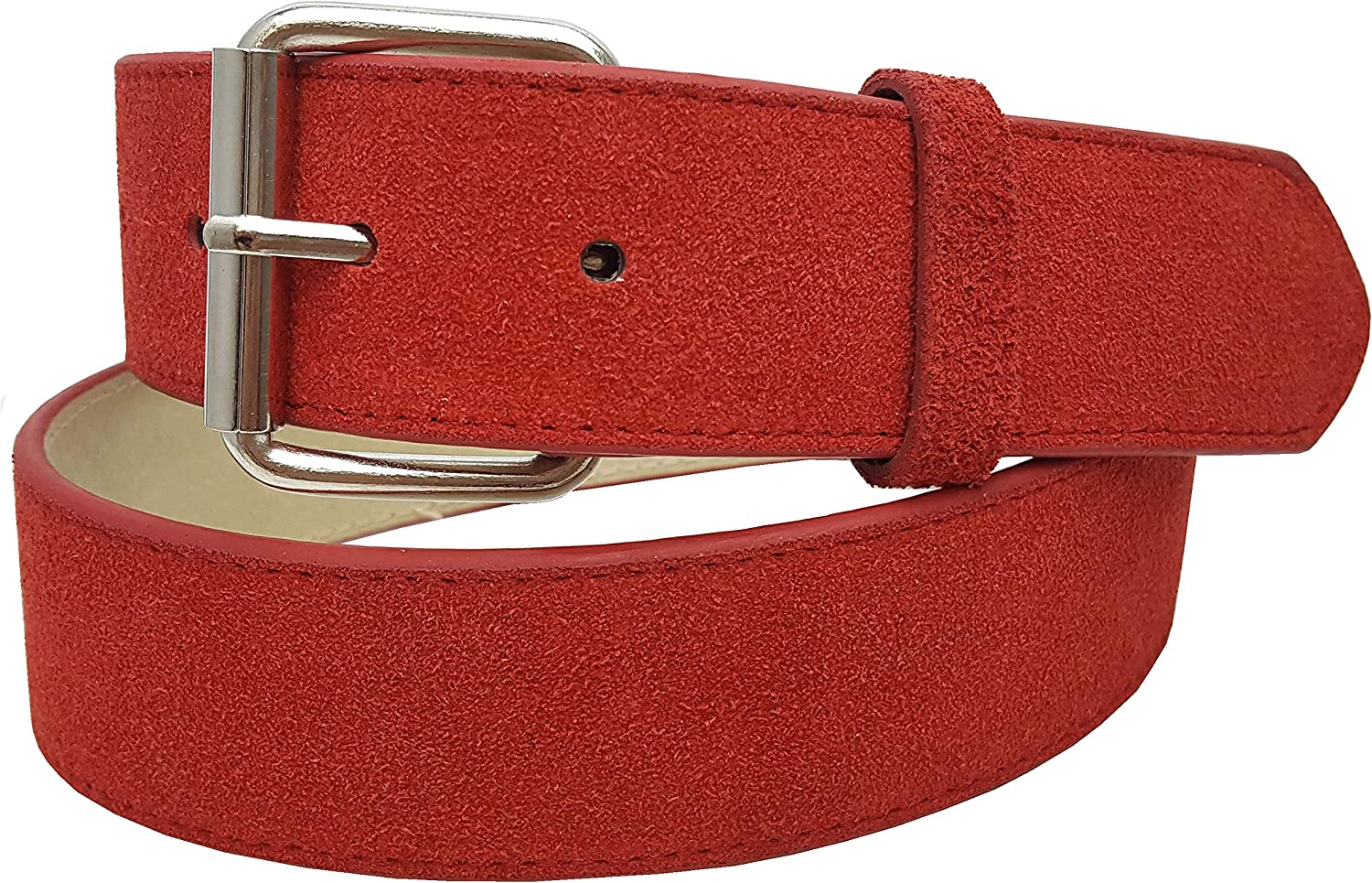 Genuine Causal Suede Belt