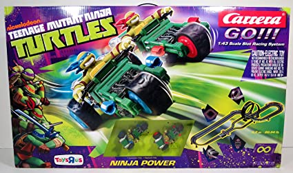 Amazon.com: Teenage Mutant Ninja Turtles Carrera GO! Ninja ...