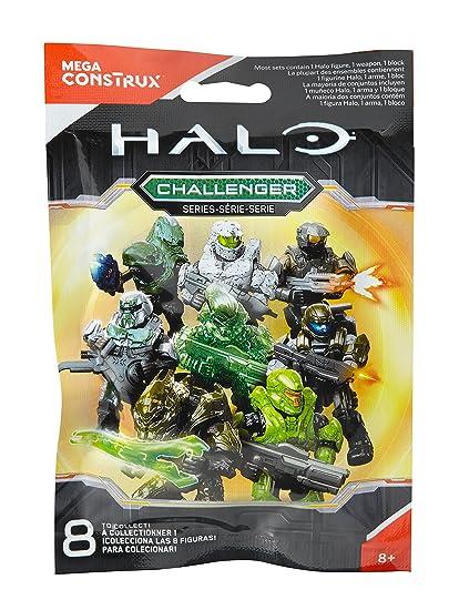 Mattel Mega Cons Trux Bloks - Halo Challenger Serie Figura ...