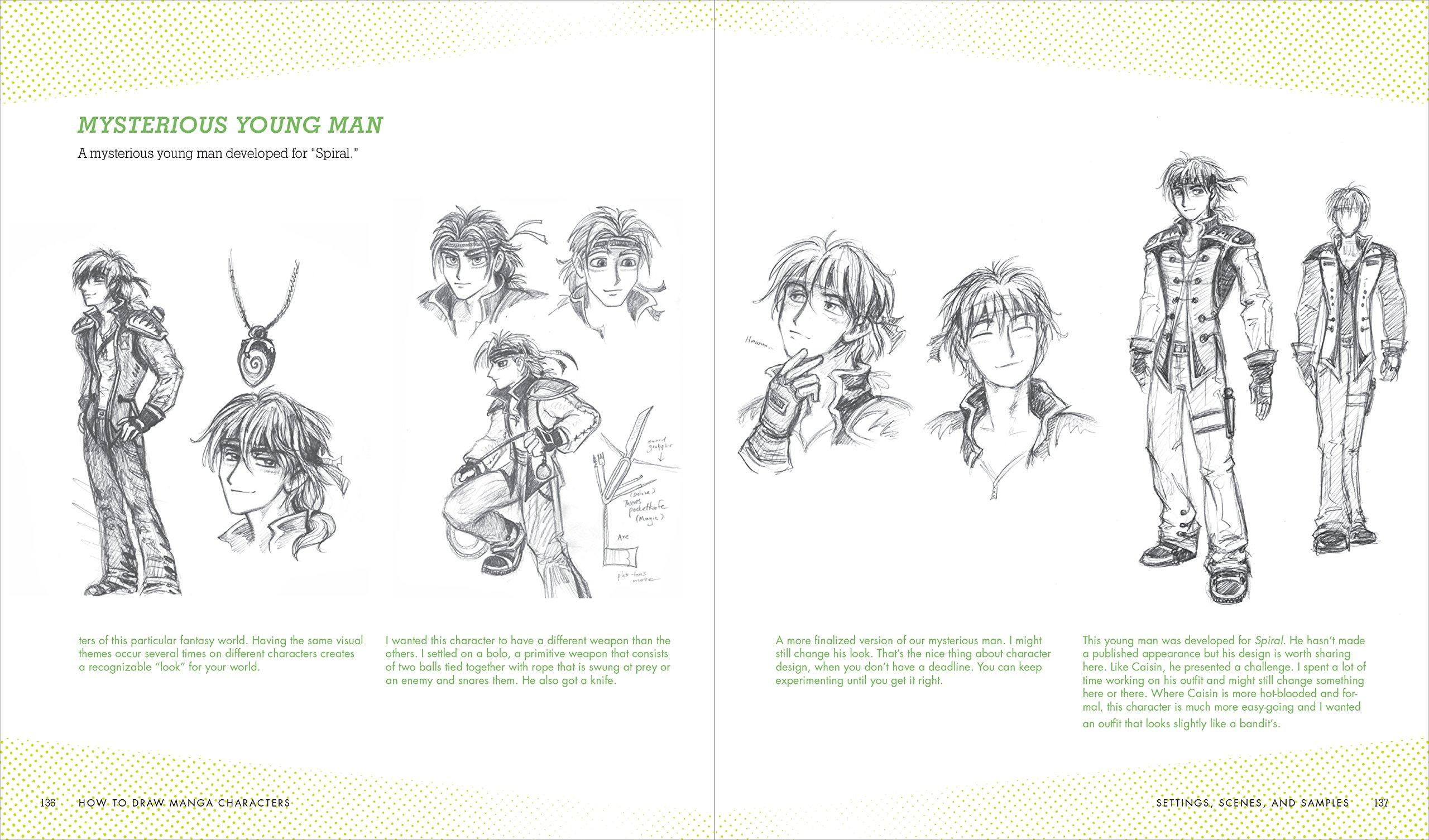 7f3e4906b95a3c How to Draw Manga Characters  A Beginner s Guide  J.C. Amberlyn   9781580934534  Amazon.com  Books