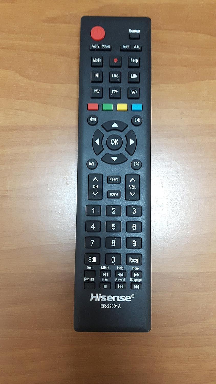Hisense - Mando a distancia de TV original de 32/40 pulgadas para modelo LHD32D36EU/150617 y LTDN40D36EU/150307: Amazon.es: Electrónica