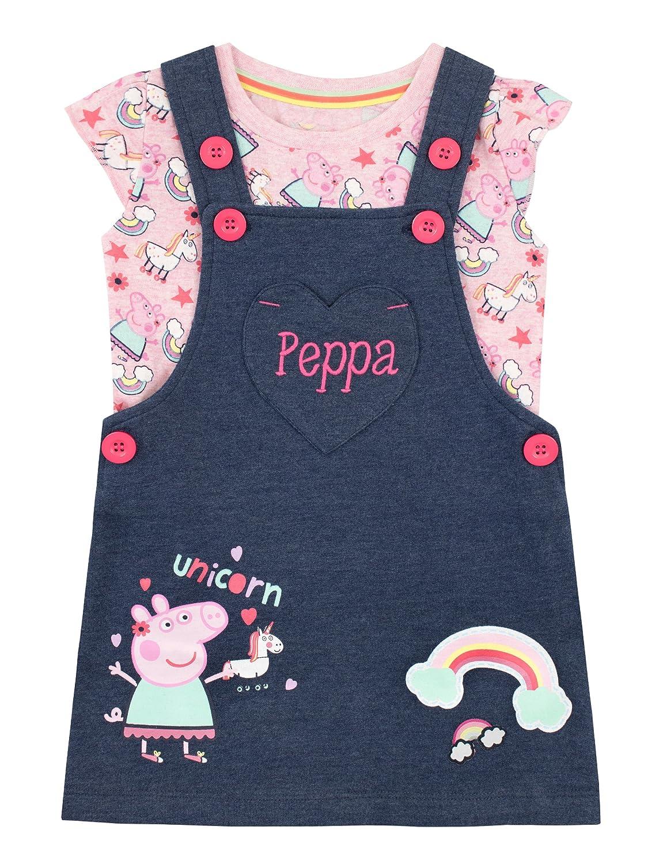 Peppa Pig Set de Overol para Niñas Unicornio
