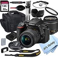 Nikon D5600 DSLR Camera w/18-55mm VR Lens + 32GB Card Bundle Deals