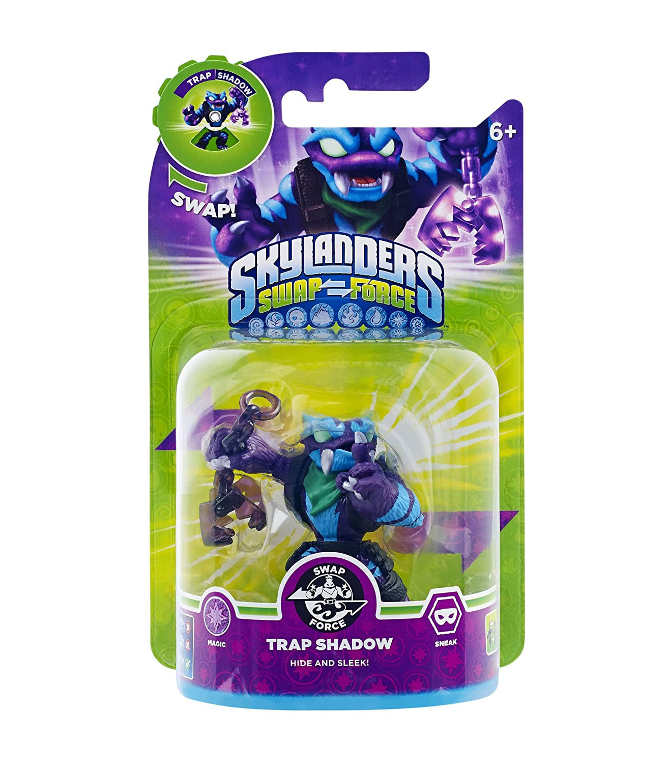 Skylanders Swap Force - Swappable Character Pack - Trap Shadow (Xbox ...