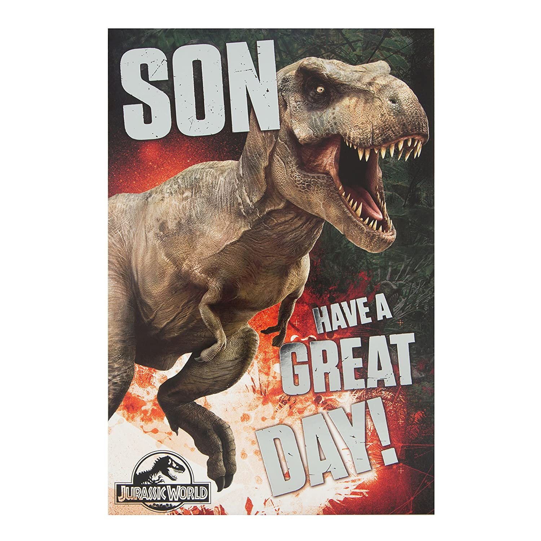Jurassic World GEM229431 - Tarjeta de felicitación de ...