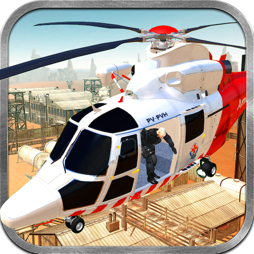 Transport Tycoon Of Military Patients Surgery Simulation 3D: Army Helicopter Air Ambulance Flight Simulator War Game 2018 - Helicopter Air Ambulance