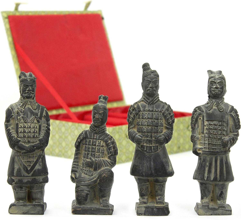 Oriental Furniture Box free shipping Max 83% OFF of 4 Cotta Warriors Terra