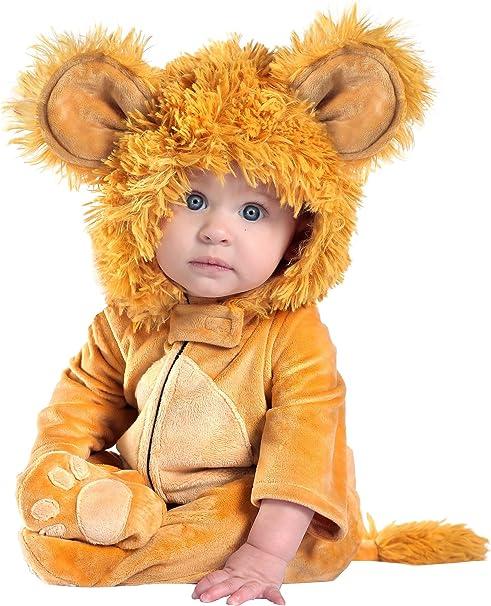 Anne Geddes - Disfraz Infantil de león (6/12 Meses), Color marrón ...
