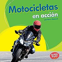 Motocicletas en acción (Motorcycles on the Go) (Bumba Books ® en español — Máquinas en acción (Machines That Go… book cover