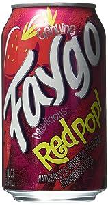 Faygo redpop soda pop, 12-pack, 12-oz. cans