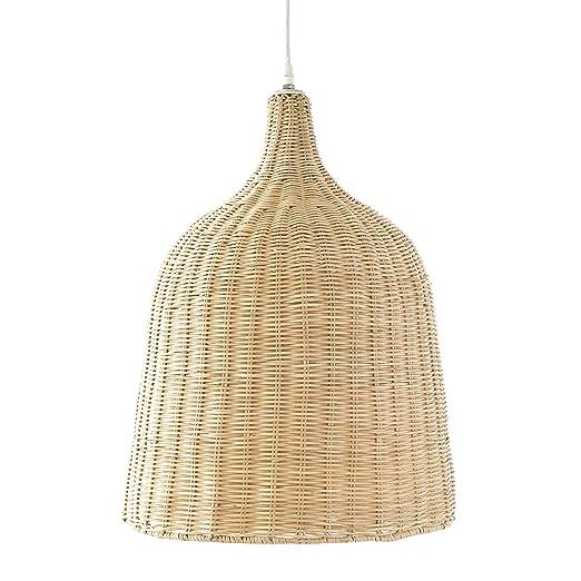Kenay Home - Lámpara de Techo Color Ratán Natural Tula