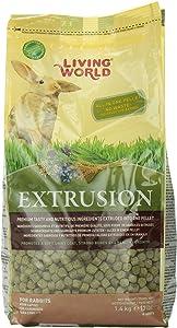 Living World Extrusion Rabbit Food, 3-Pound