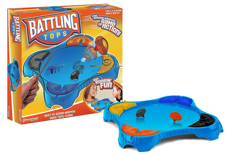 Pressman Toys Battling Tops Game (4 Player) 6001-06