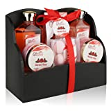 Amazon Price History for:Spa Gift Basket with Heavenly Garden Rose fragrance - Gift set Includes Shower Gel, Bubble Bath, Bath Bombs Bath Salts and More! Great Birthday, Anniversary, Wedding or Graduation Gift for Women!